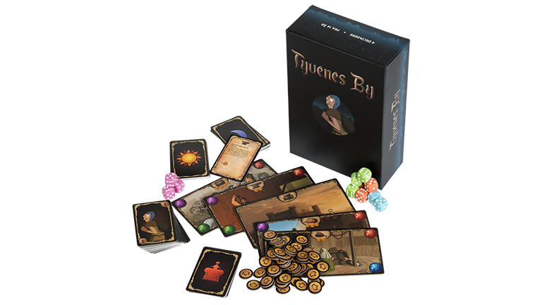 City Of Thieves unboxed